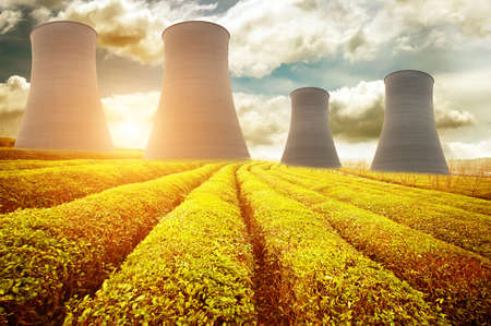 Nergie nucléaire Banque d'images - 25088344