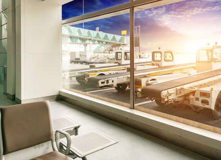 the scene of T3 airport building in beijing china interior of the airport  photo