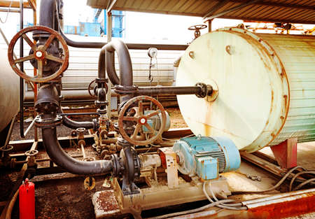 industrial motor pump photo