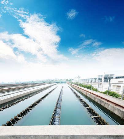treatment: Modern urban wastewater treatment plant