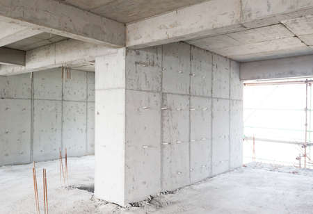 Large concrete compound or space
