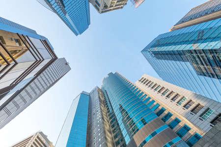 modern business center in hongkong Foto de archivo