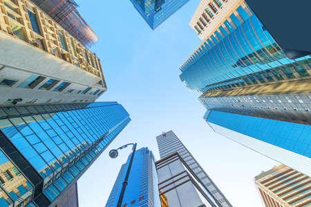 modern business center in hongkong Stock fotó