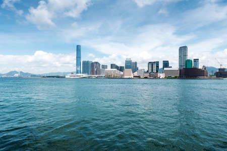 Hong Kong harbour Stock fotó