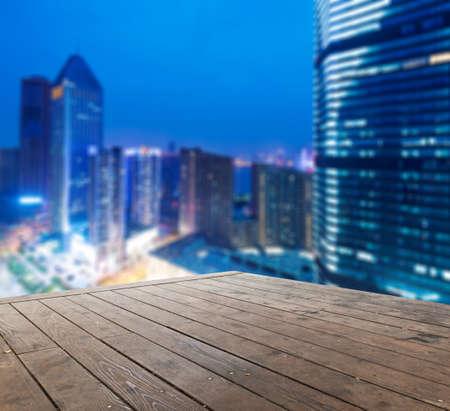 landscape of shanghai china at night.