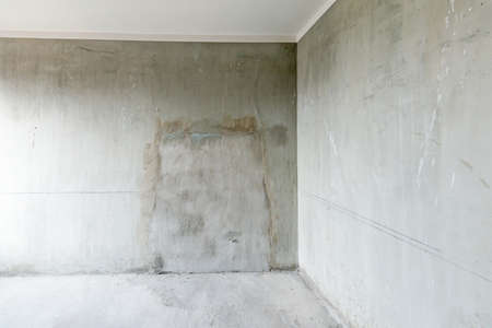 compound: Large concrete compound Stock Photo