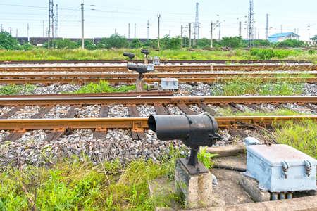 crossway: railway tracks