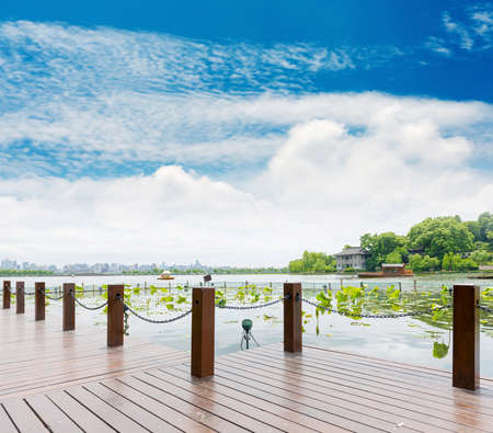 enchanting: View on the enchanting West Lake, Hangzhou, China