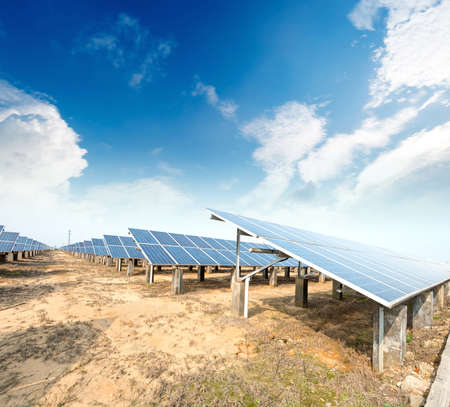 radiacion solar: Los paneles solares - sistema de seguimiento