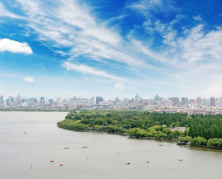 industrial heritage: West Lake, Hangzhou, Zhejiang province, China