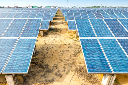 energia renovable: panel solar