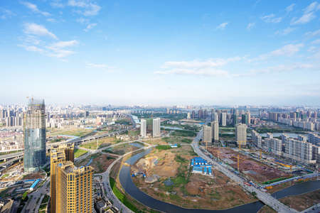 Panoramic picture of China nanchang