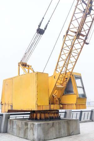 construction crane settings