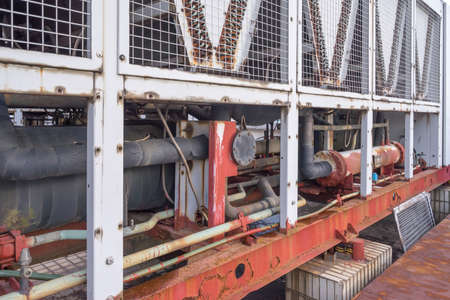 industrial motor pump 스톡 콘텐츠