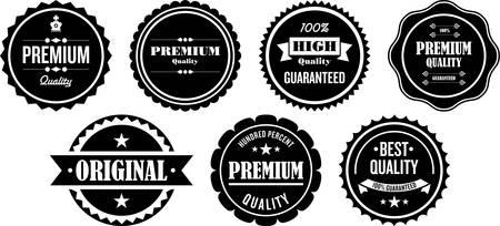 Premium Quality Labels