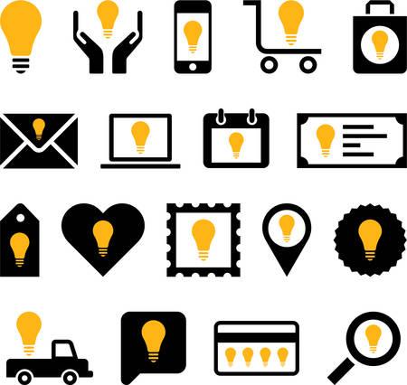 conceptual bulb: Conceptual Bulb icons