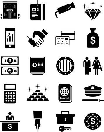banker: Bank icons