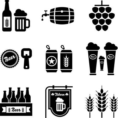 jarra de cerveza: Iconos de la cerveza