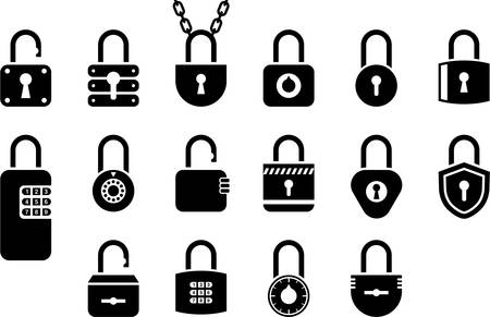 padlock icon: Padlocks Illustration