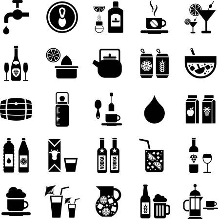 Drinks and Beverages icons