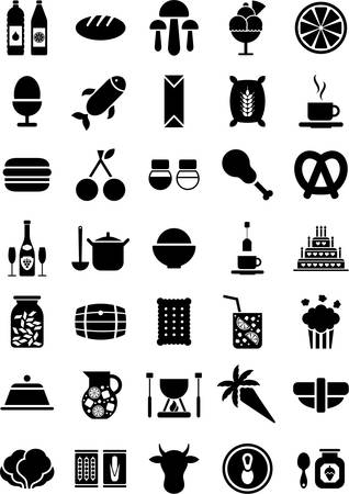 refreshments: Food icons
