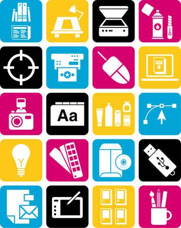 fotocopiadora: Iconos del diseño gráfico