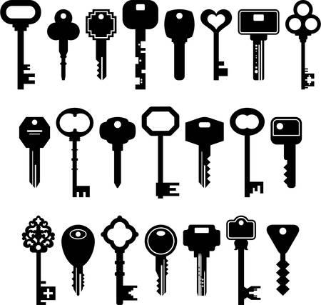 key chain: Keys icons
