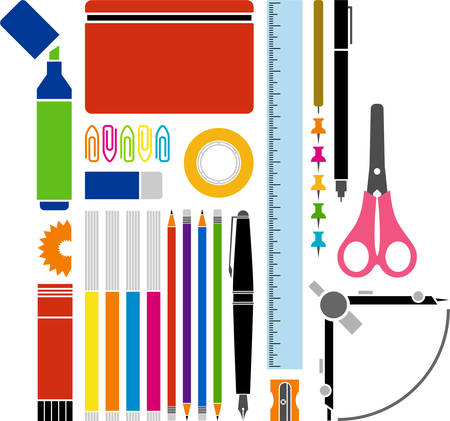pencil case: Office and School supplies