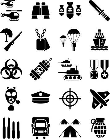 armament: Military and Army icons