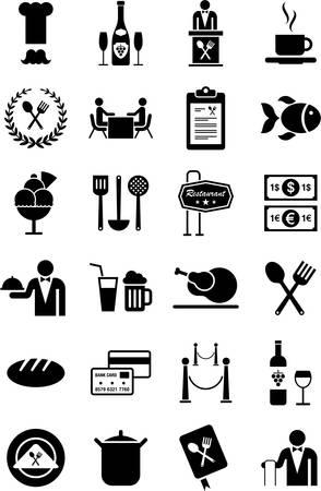 sommelier: Iconos de restaurantes