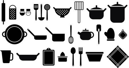 Kitchen utensils Иллюстрация
