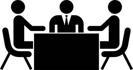 esporre: Business meeting Vettoriali