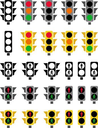 traffic signal: Sem�foros