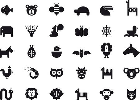 squirrel monkey: Animals icons