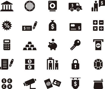 bankcard: MONEY BANK & icons