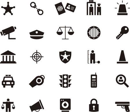enforcement: Police & Law Enforcement icons