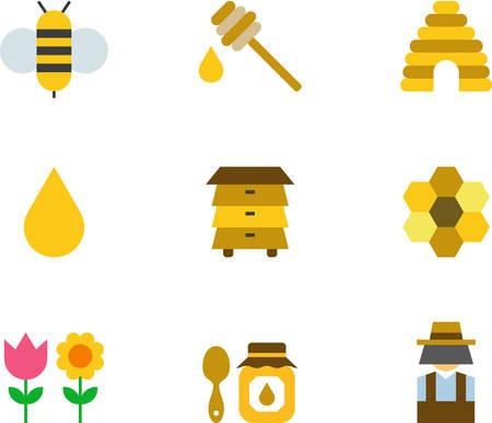 HONEY BEE & icons