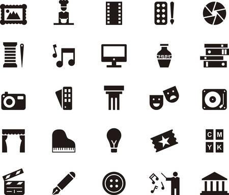 DIE SIEBEN ARTS-Icons