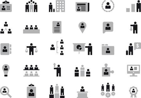 BUSINESS, HHRR & MANAGEMENT icons