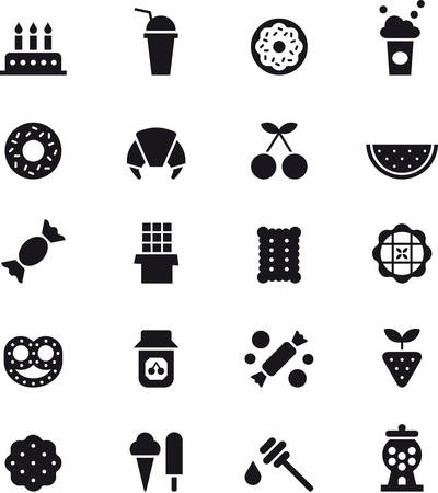 glyph: CANDY SWEETS & glyph icons