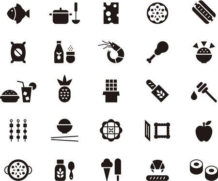 FOOD pictogrammen