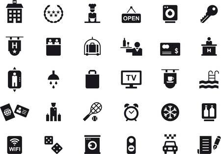 iconos del hotel