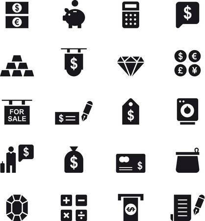 bankcard: MONEY icons