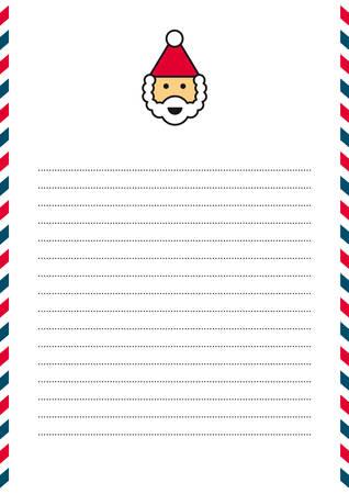 papier a lettre: Lettre au Père Noël