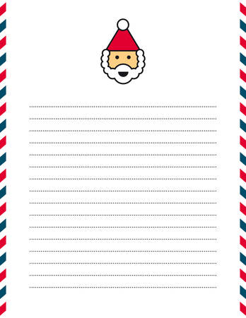 letter from santa: Letter to Santa Claus