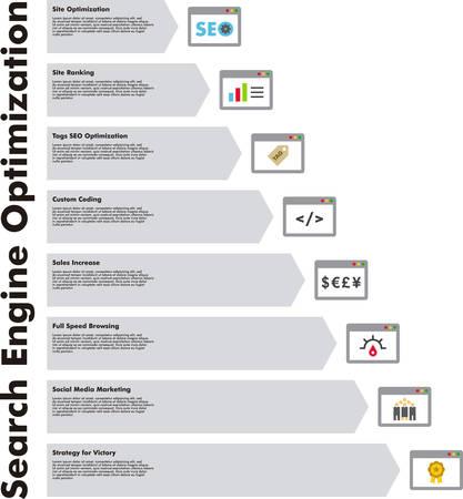 seo: SEO infographic
