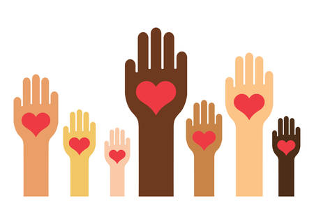 Hands & Hearts (Haut-Farben-Version)