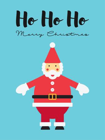 santa claus ho ho ho merry christmas stock vector 67733541 - Hohoho Merry Christmas