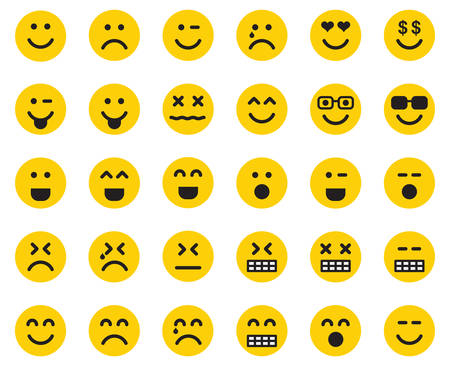 Emojis Stock Illustratie