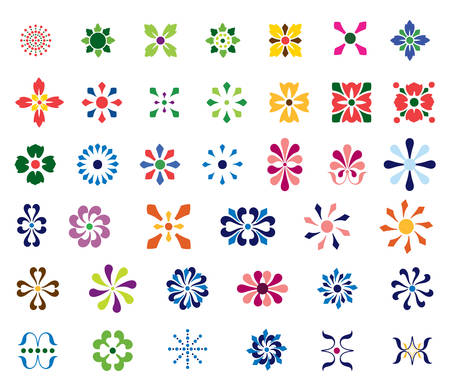 forme: Résumé Formes Floral